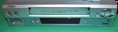 Sanyo Vhr-901 Vcr Vhs Video Player & Recorder With Remote