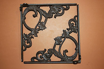 "(5),med.""elegant Leaf"",antique Look,shelf Bracket(S),corbels,beach Decor,b-37"
