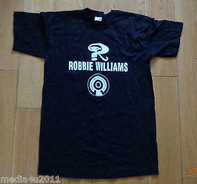 Robbie Williams Intensive Care 2006 Uk/europe Concert Tour Small T Shirt New