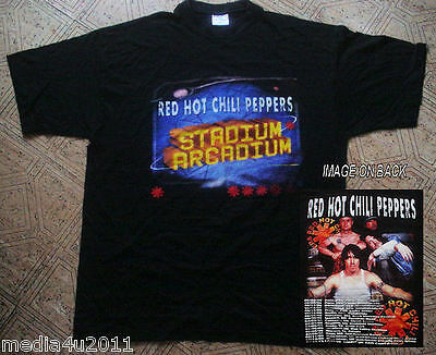 Red Hot Chilli Peppers Rare  2006 Concert Small T Shirt New