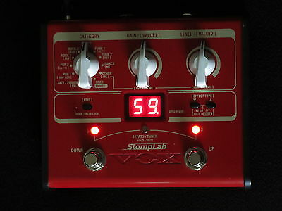 Vox Stomplab Sl1B Multi Effects Bass Guitar Pedal An Awesome Sounder Ex-Cond