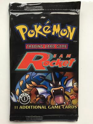 Team Rocket 1st Edition Sealed Booster Pack Pokemon Cards Mint RARE Charizard 2
