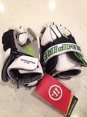 Brand New Warrior Regulator Lite Lacrosse Gloves- S