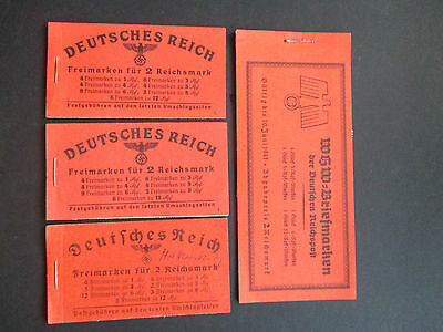 Germany Small Range Of Early Booklets - All Part Full With Mnh Panes Various