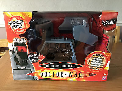 Doctor Who Radio Controlled K9 - First Version * New * Sealed *
