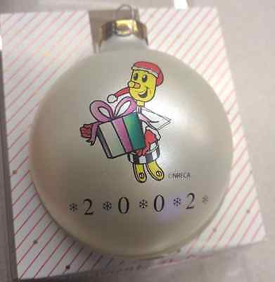 Willie Wirehand Christmas Ornament Electric Company Lineman Cooperative NOS