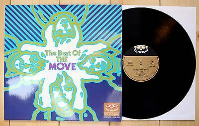 LP THE MOVE the best of KARUSSELL PSYCH TOP roy wood