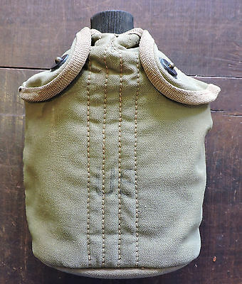 Us Ww2 Water Canteen And Cover