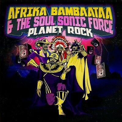 Afrika Bambaataa - Planet Rock [New CD] Extended Play, Manufactured On Demand