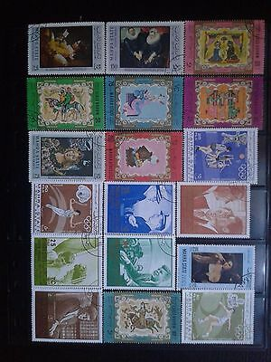 Mahra State - Yemen - nice lot of stamps used