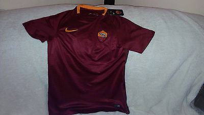 AS Roma Home Football shirt 2016/2017 size L