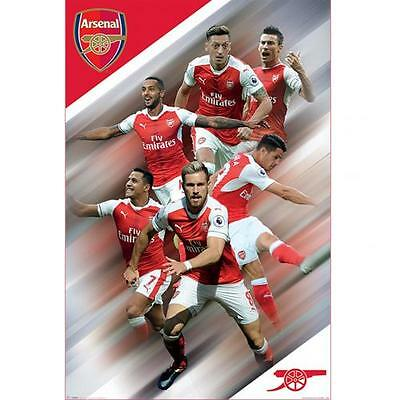 Arsenal F.C. Poster Players 40 Official Merchandise