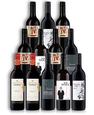 Sensational Red Wine Mix Case (12 Bottles)