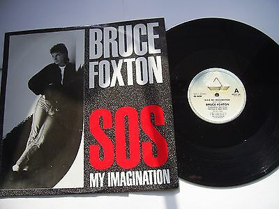 "BRUCE FOXTON S.O.S. My Imagination/25 or 6 to 4/Get Ready ARISTA 1984 12"" PS EX"