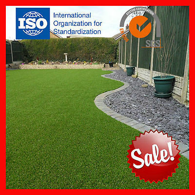 HUGE SALE! 30mm Synthetic Artificial Fake Grass Turf Lawn 4M X 15M ROLL, 60M2