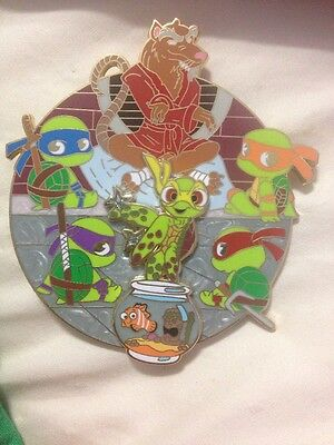Disney Fantasy pin Finding Nemo Teenage Mutant Ninja Turtles