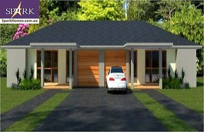 Duplex Kit Home - 173, 5 Bedrooms - Size 209m2, Pre-Fab Homes, Engineered