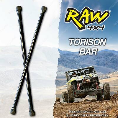 Raw 4x4 Rate Increased Torsion Bars For MITSUBISHI CHALLENGER PA 2 30mm Lift