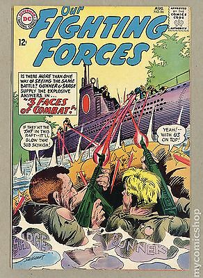 Our Fighting Forces (1954) #86 FN 6.0