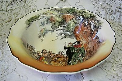 ROYAL DOULTON UNDER THE GREENWOOD TREE SERIES WARE 24cm BOWL MADE IN ENGLAND