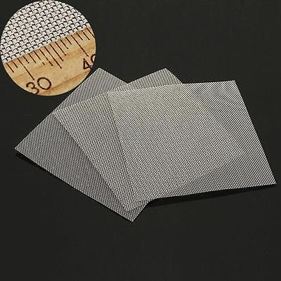 3Pcs 35 Mesh Stainless Steel Woven Wire Screen Filtration Filter Sheet 10x10cm