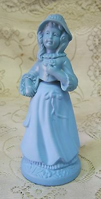 Vintage Avon Little Girl Blue Elusive Cologne Bottle