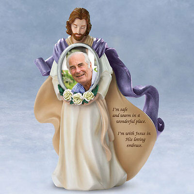 His Loving Embrace Bereavement Jesus Figurine Bradford Exchange