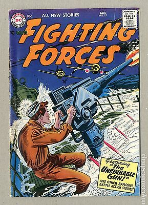 Our Fighting Forces (1954) #17 GD- 1.8
