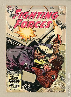 Our Fighting Forces (1954) #38 GD 2.0