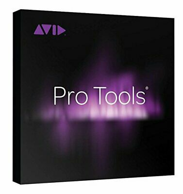 Avid Pro Tools 12 2018 2019 Perpetual w/ ilok & 1 Year Upgrade & Support Plan