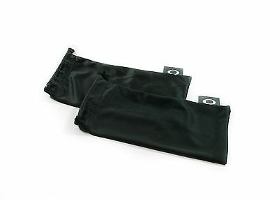 Oakley 2 Pack - Black Micro Fiber Soft Cloth Sunglasses Cleaning Storage Bags