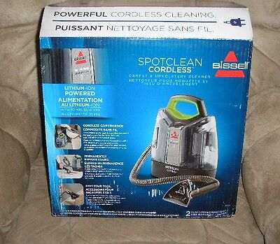 Bissell SpotClean Cordless Portable Carpet Spot Cleaner NEW NO IMPORT/CUST FEES*