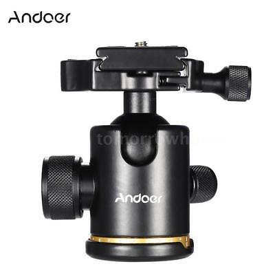 """Andoer DSLR Camera Tripod Stand Ball Head with Quick Release Plate 1/4"""" Screw US"""