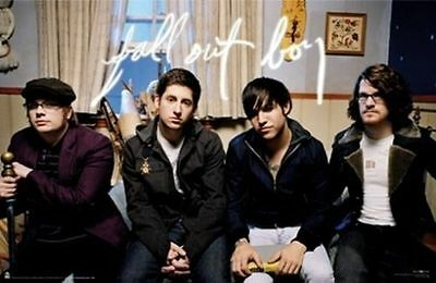 FALL OUT BOY Poster - Rock Group Couch Full Size Print ~ Stump Wentz Trohman