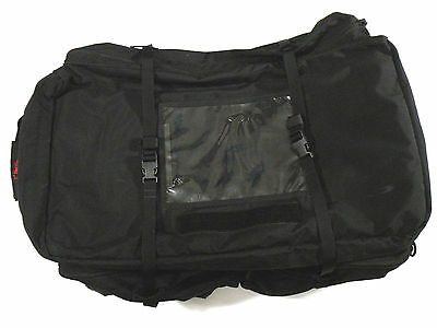 London Bridge Trading LBT-2466A Medium Wheeled Load-Out Bag Black U.S. Navy NSW