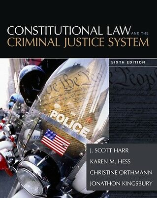 Constitutional Law and the Criminal Justice System (Hardcover), Hess Orthmann, .