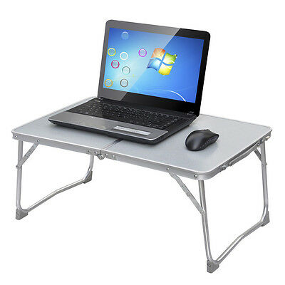Portable Camp BBQ Laptop Desk Folding Computer Notebook Sofa Bed Stand Table