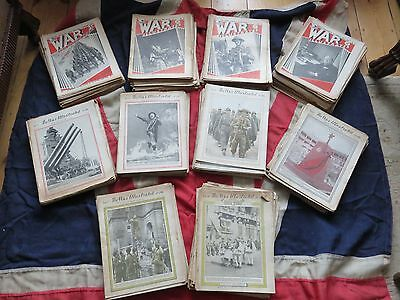 The War Illustrated Complete Set 1939 to 1947
