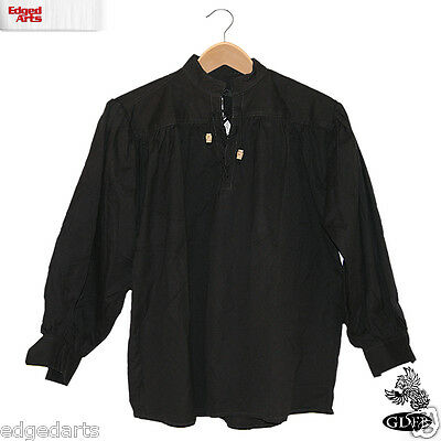 Cotton Shirt for Reenactment, Larp, Fancy Dress and Cosplay