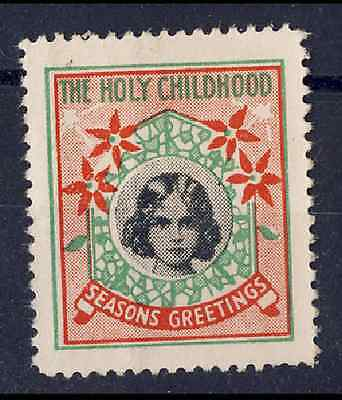 The Holy Childhood Christmas Seals - 1934 & 1935