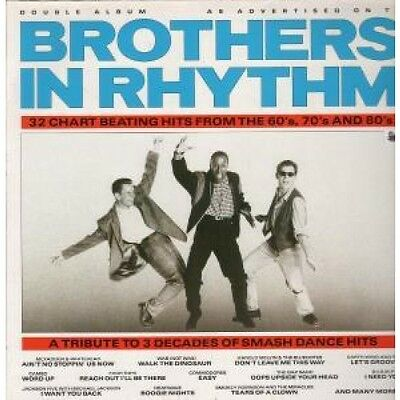 BROTHERS IN RHYTHM Various Artists DOUBLE LP VINYL 32 Compilation Double Album