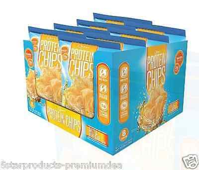New Quest Nutrition Protein Chips Baked Gluten Free No Soy Daily Body Healthy