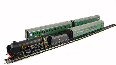 New Hornby R2815 1957 Southern Suburban Set 4-4-0 Haileybury +3  Coaches, NEW!