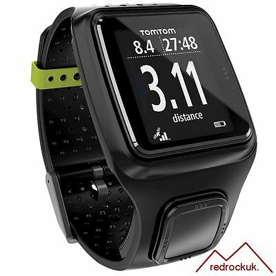 TomTom Runner GPS Sports Running Watch & Graphical Training Partner - Black