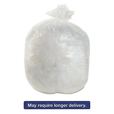 High-Density Can Liners, 20 X 22, 7 Gallon, 6 Mic Equivalent, Natural, 2000/ct