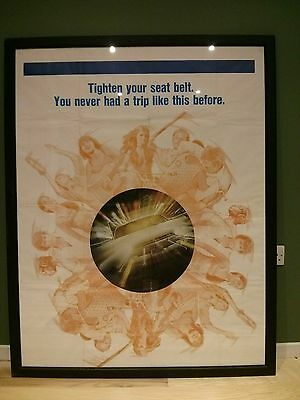Vanishing Point Film Poster Large Scale 1971 Decorative Vintage Framed