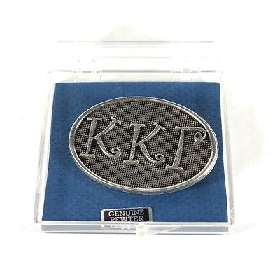 Pewter  Kappa Kappa Gamma Pin Brand New