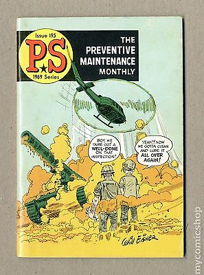 PS The Preventive Maintenance Monthly (1951) #195 FN 6.0
