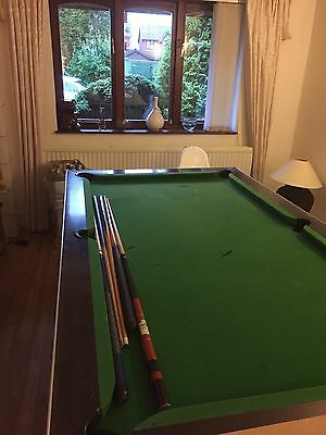 7 x 4 ft Slate Bed Pool Table -