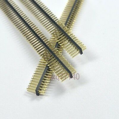 10pcs RoHS 1.27mm 2X50 Pin Header Double Row Male 100P for DIP PCB Board convert